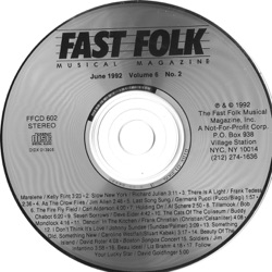 Various Artists - Fast Folk Musical Magazine, Vol. 6, No. 2: Mike Porco In Memoriam (1992)