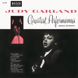 Judy Garland - Greatest Performances Original Recordings (1954)