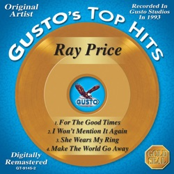 Ray Price - Gusto's Top Hits: Ray Price - EP (2008)