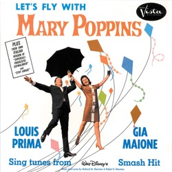 Gia Maione & Louis Prima - Let's Fly With Mary Poppins (1965)
