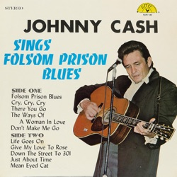 Johnny Cash - Sings Folsom Prison Blues (1979)