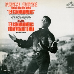 Prince Buster - Sings His Hit Song Ten Commandments (1967)