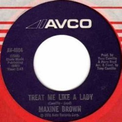 Maxine Brown - Treat Me Like a Lady / I.O.U. - Single (1972)