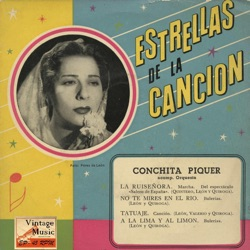 Conchita Piquer - Vintage Spanish Song Nº26 - EPs Collectors (1956)