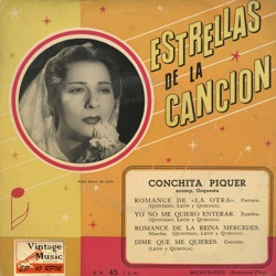 Conchita Piquer - Vintage Spanish Song Nº31 - EPs Collectors (1958)