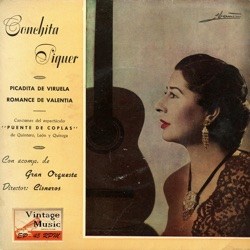 Conchita Piquer - Vintage Spanish Song Nº57 - EPs Collectors